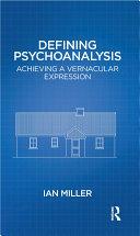 Defining Psychoanalysis Pdf/ePub eBook