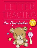 Letter Tracing for Preschoolers Teddy Bear