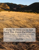 How to Research Tax Sale Tax Deed Properties