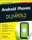 """Android Phones For Dummies"" by Dan Gookin"