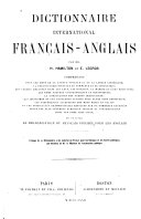 Dictionnaire international français-anglais