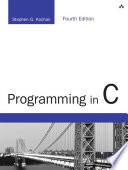 link to Programming in C in the TCC library catalog