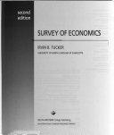 Cover of Survey of Economics