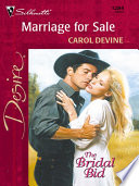 Marriage for Sale
