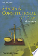 Shari A Constitutional Reform In Indonesia