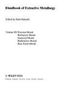 Handbook of Extractive Metallurgy