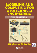Modeling and Computing for Geotechnical Engineering