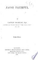 Jacob Faithful     A new edition Book