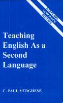 Teaching English as a Second Language