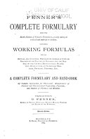 Fenner's Complete Formulary