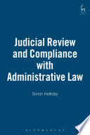 Judicial Review and Compliance with Administrative Law