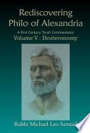 Rediscovering Philo of Alexandria