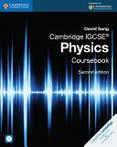 Cambridge IGCSE   Physics Coursebook with CD ROM