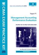 CIMA Exam Practice Kit Management Accounting Performance Evaluation Paper