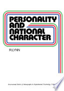 Personality And National Character