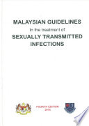 MYCDCGP   Malaysian Guidelines In The Treatment of Sexually Transmitted Infection Book