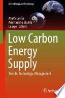 Low Carbon Energy Supply Book