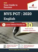 NVS PGT English 2020   10 Mock Test   Sectional Test