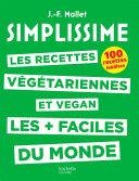 Pdf SIMPLISSIME - Recettes végétariennes et vegan Telecharger