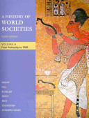 A History of World Societies Volume A  Sources of World Societies