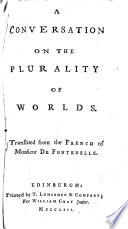 A Conversation on the Plurality of Worlds