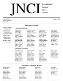 Journal Of The National Cancer Institute Book PDF