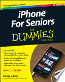 """iPhone for Seniors for Dummies"" by Nancy C. Muir"