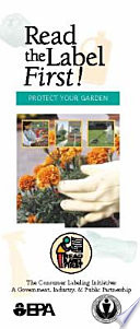 Read the Label First  Protect Your Garden