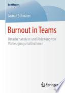 Burnout in Teams