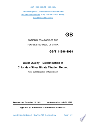 Download GB/T 11896-1989: Translated English of Chinese Standard. (GBT 11896-1989, GB/T11896-1989, GBT11896-1989) Free Books - Read Books