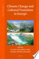 Climate Change and Cultural Transition in Europe Book