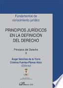 Principios jurídicos en la definición del derecho. Principios del Derecho II