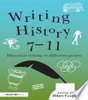 Writing History 7 11