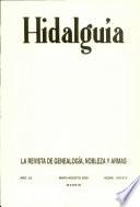 Revista Hidalguía número 310-311. Año 2005