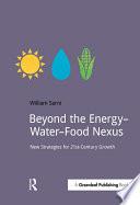 Beyond the Energy   Water   Food Nexus Book