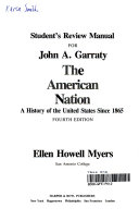 Student s Review Manual for John A  Garraty s The American Nation  4th Ed Book PDF