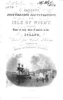 Barber's Picturesque Illustration of the Isle of Wight, etc. accompanied by historical and topographical descriptions