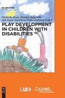 Play Development in Children with Disabilties