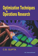 Optimization Techniques In Operation Research