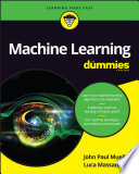 List of Dummies Machine Learning E-book