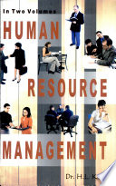 """Human Resource Management (2 Vols.)"" by H.L. Kaila"