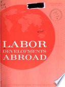 Labor Developments Abroad