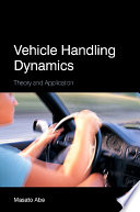 Vehicle Handling Dynamics Book