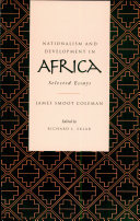 Nationalism and Development in Africa
