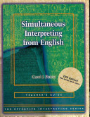 Simultaneous Interpreting from English