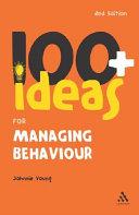 EPZ 100 + Ideas for Managing Behaviour
