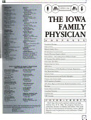 The Iowa Family Physician Book