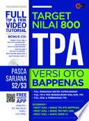 Target Nilai 800 TPA Versi OTO Bappenas