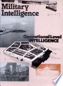 Military Intelligence Book