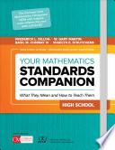 Your Mathematics Standards Companion  High School